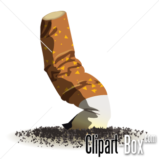 Cigarette clipart unhealthy Cigarette vector free CIGARETTE clipart