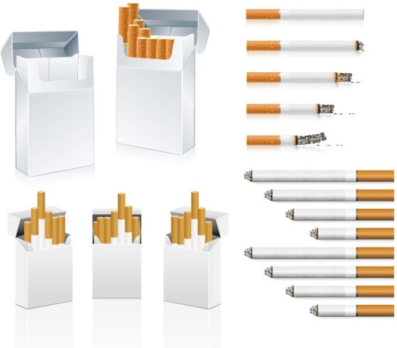 Cigarette clipart unhealthy Vector clip Cigarette art