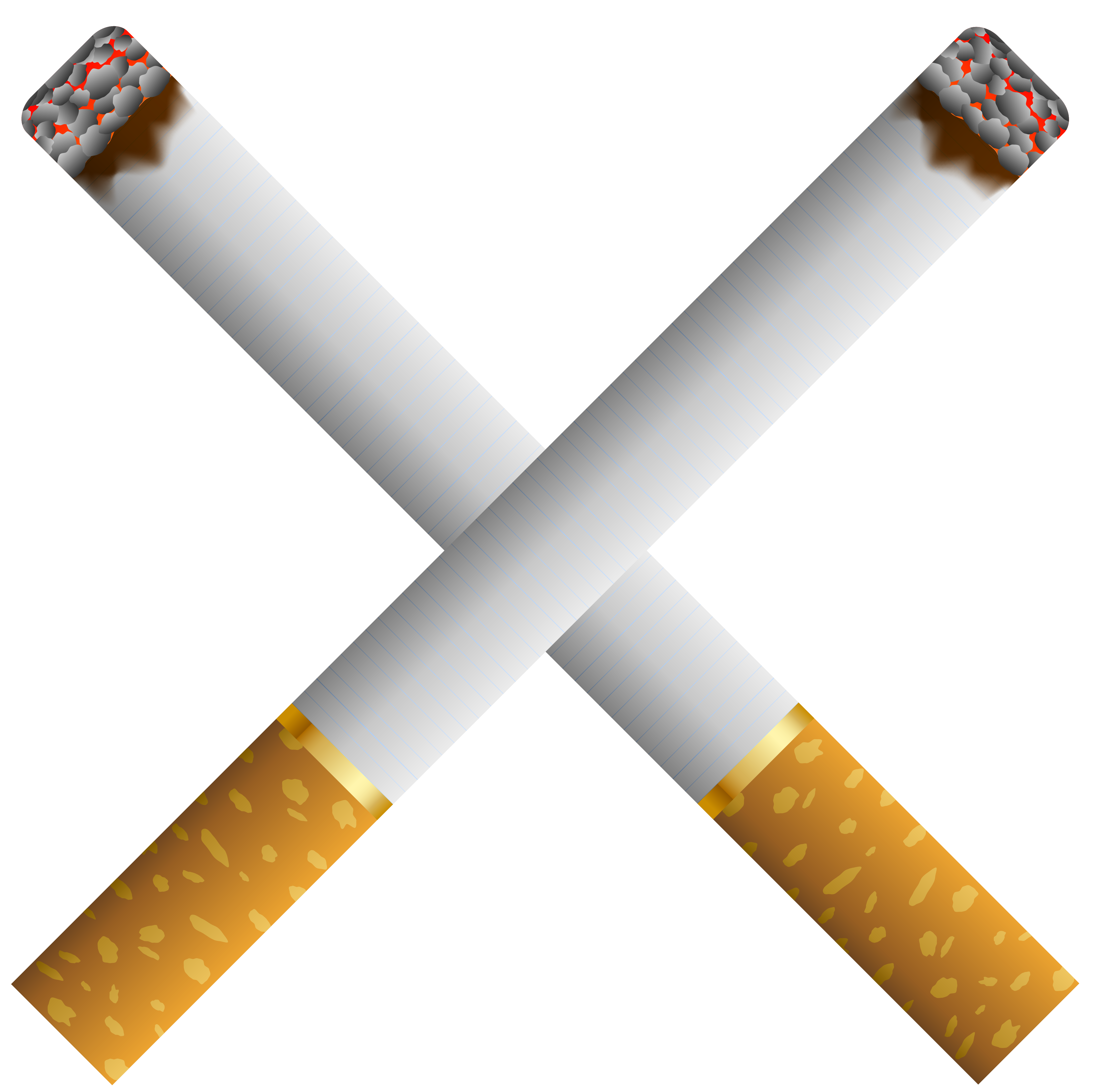 Cigarette clipart tobacco Two Two PNG Best Crossed