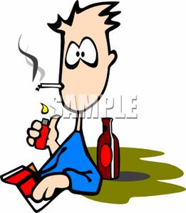 Cigarette clipart unhealthy – Habits Bad Clip Download