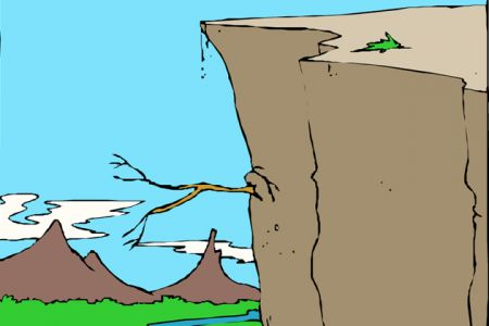 Cilff clipart cliff edge Clipart illustrations Cliff Clipart Popular