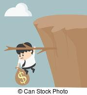 Cilff clipart cliff edge Illustrationby 227 Clipart Fiscal art