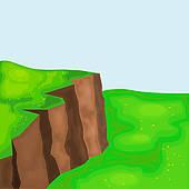 Cilff clipart cliff edge Landscape Cliffs cliffs Trapped Free