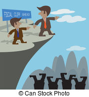 Cilff clipart cliff edge Cliff at Illustration Fiscal off