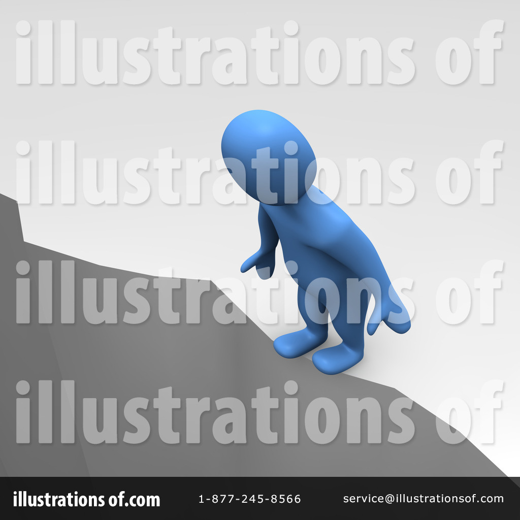 Cilff clipart depressed person Illustration by Cliff Jiri Moucka