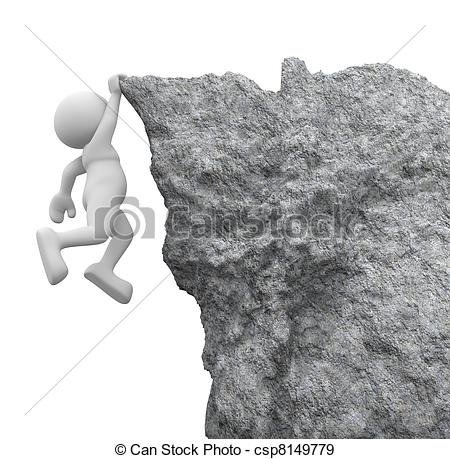 Cilff clipart person · 3d Rocks Cliff ·