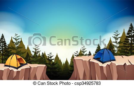 Cilff clipart two The site cliff the with