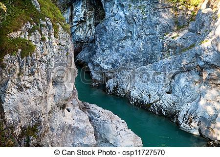 Cilff clipart water river Between cliffs cliffs river river