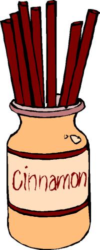 Cinnamon clipart Aromatic  Cinnamon clipart Collection