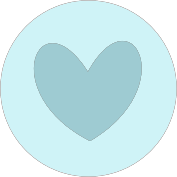 Circle clipart heart Clker as: vector image In