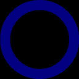Circle clipart navy blue Circle circle Navy blue icon