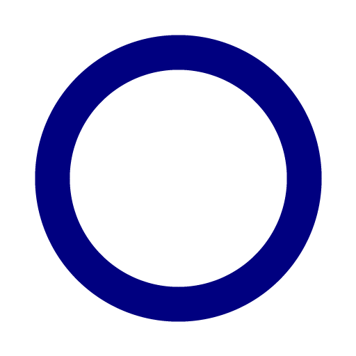 Circle clipart navy blue Clipart outline navy Circle Blue