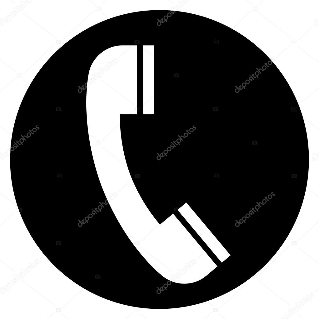 Circle clipart phone Stock Stock icon in furtaev