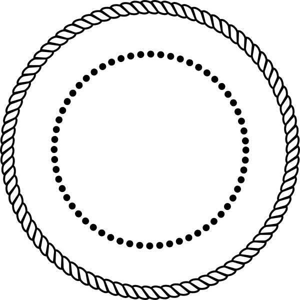 Rope clipart rope circle #3