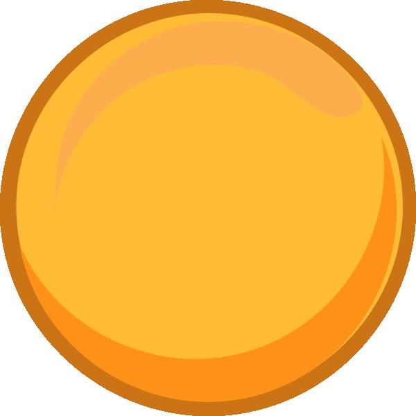 Circle clipart yellow circle Gold vector Art Clker art