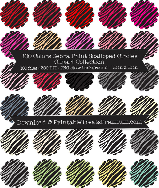 Circle clipart zebra print 100 Collection Colors Print Clipart