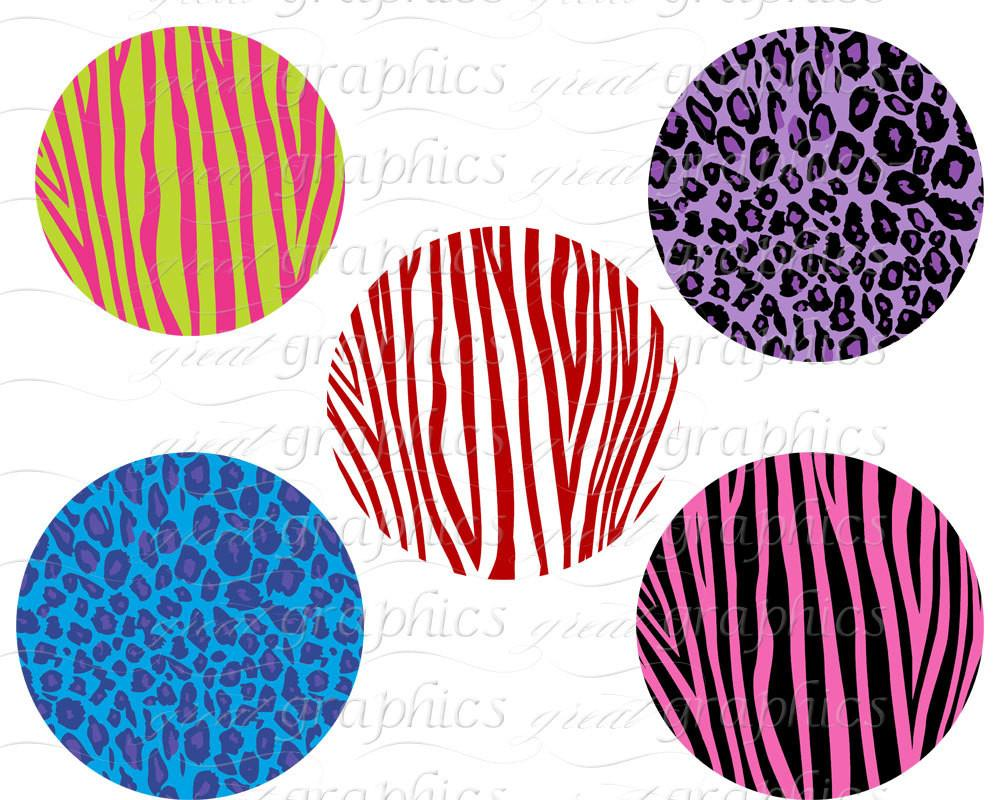 Circle clipart zebra print  Clipart Animal Tags Instant