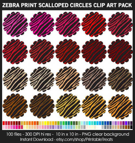 Circle clipart zebra print This Zebra is Circles Use