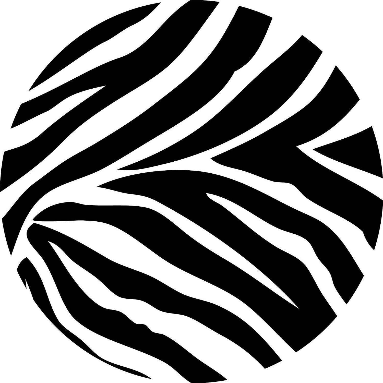 Circle clipart zebra print Zebra Border Print com Wallpaper