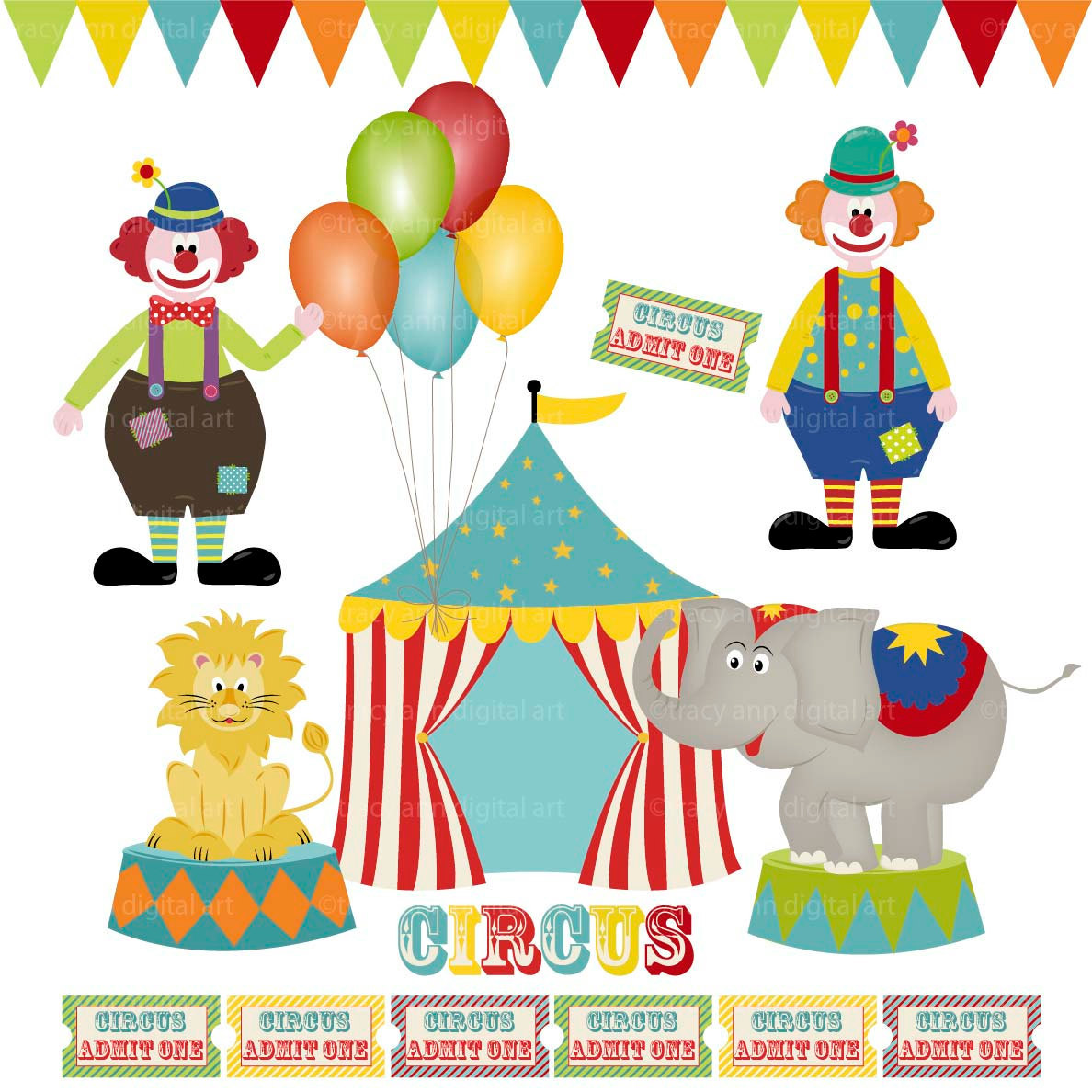 Seal clipart circus show #3