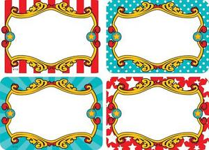Decoration clipart circus 5709 5709 Pack Tags/ loading