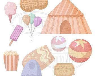 Circus clipart pastel Clipart Peanuts Cotton Download Downloadable