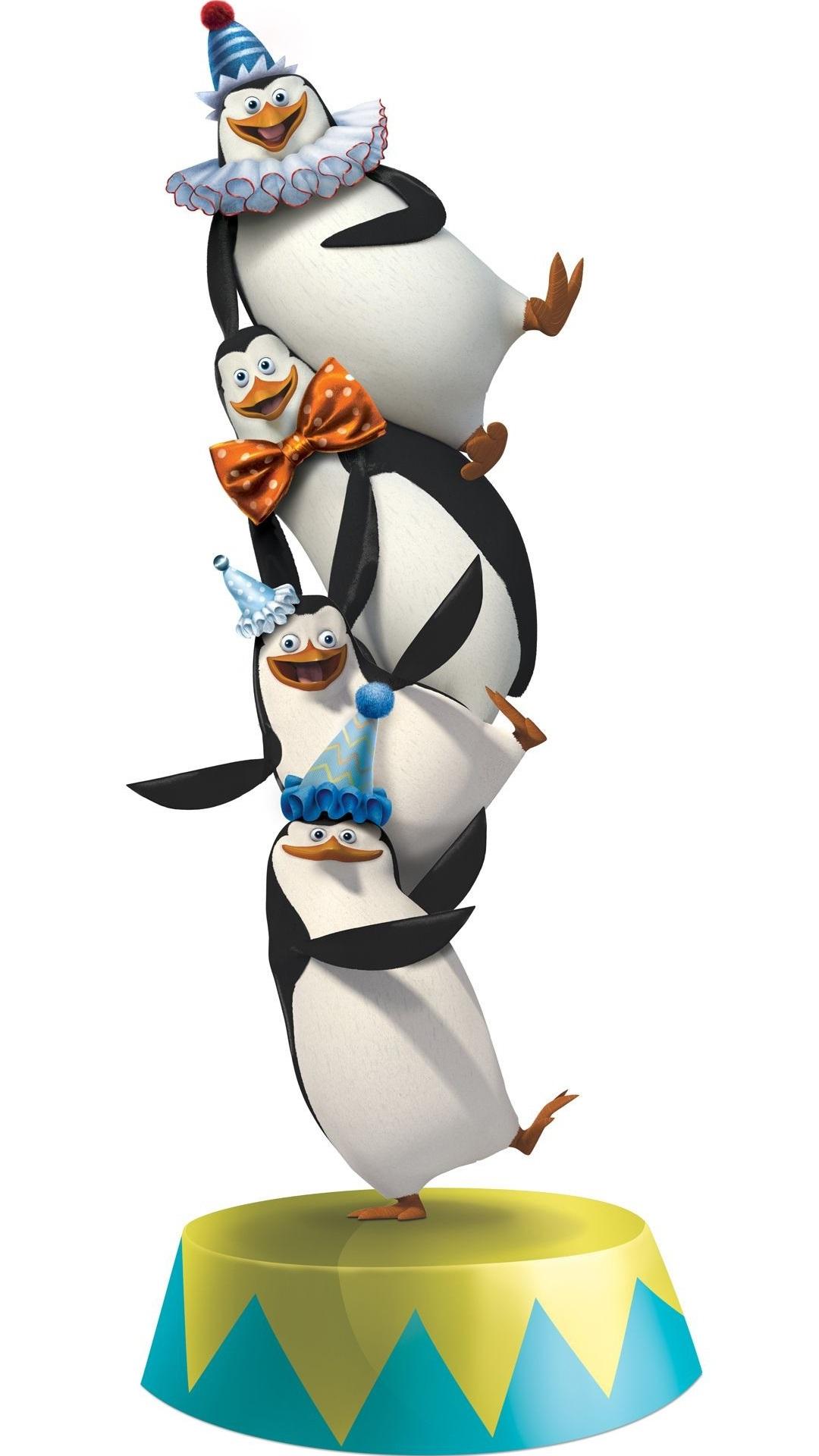 Penguin clipart circus Madagascar mobile hd 1080x1920 ×