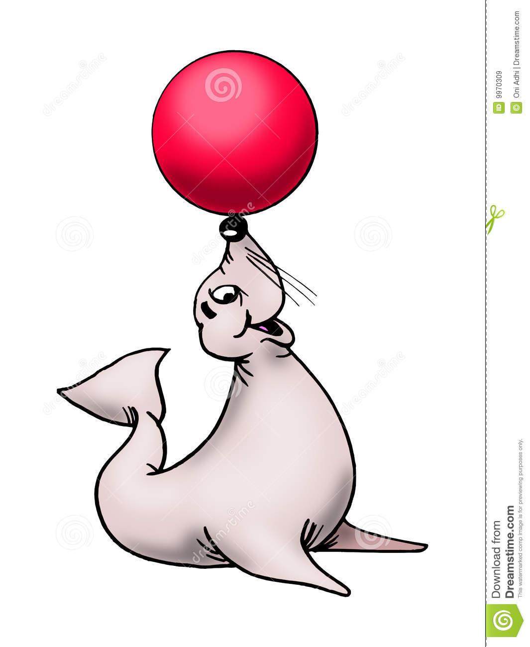 Seal clipart circus show #8