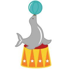 Seal clipart circus show #5