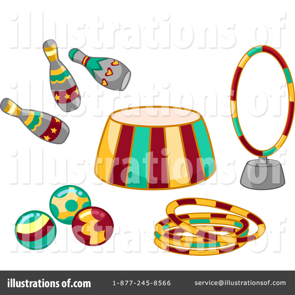 Circus clipart trampoline Illustration Clipart Illustration Royalty by