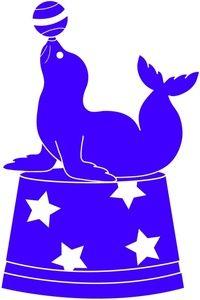 Seal clipart circus show #11