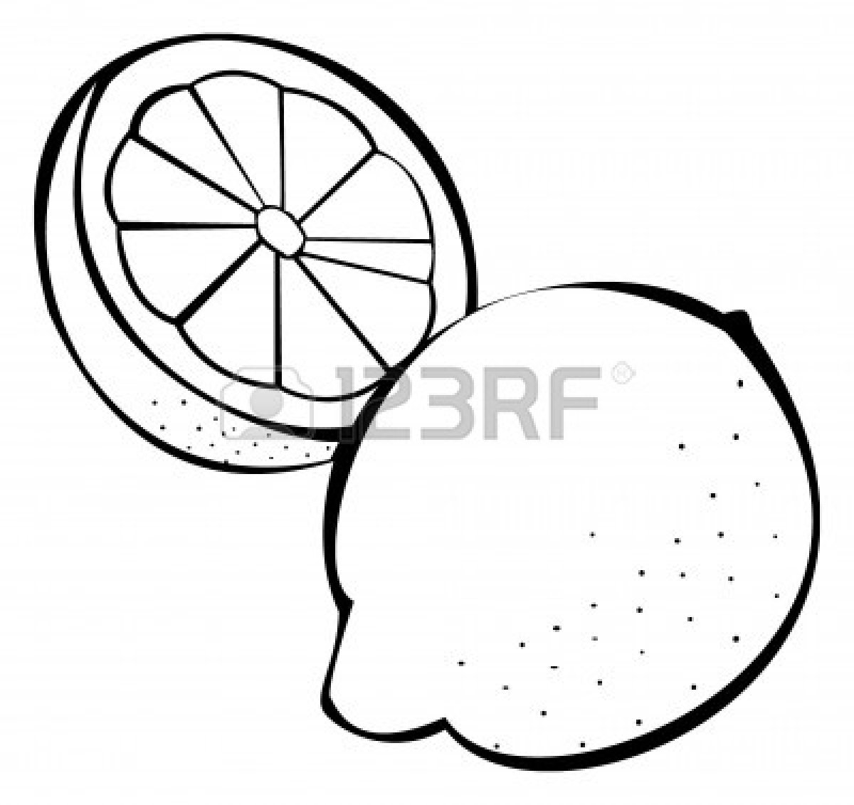 Citrus clipart black and white White And Lemonade Panda Clipart
