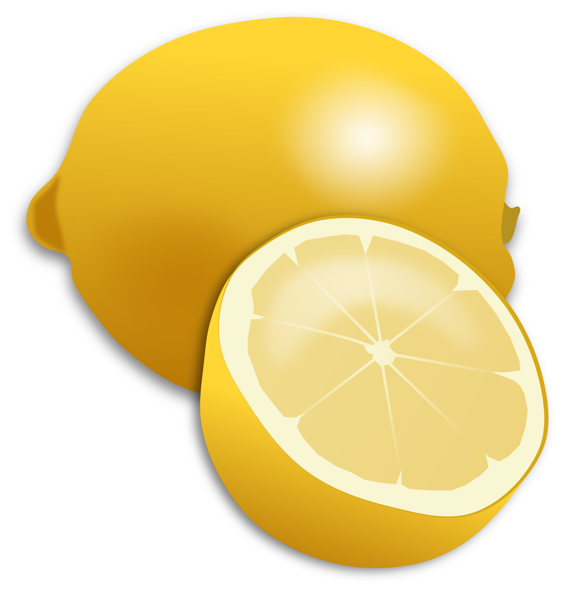 Citrus clipart sliced Clipart Lemon Lemon