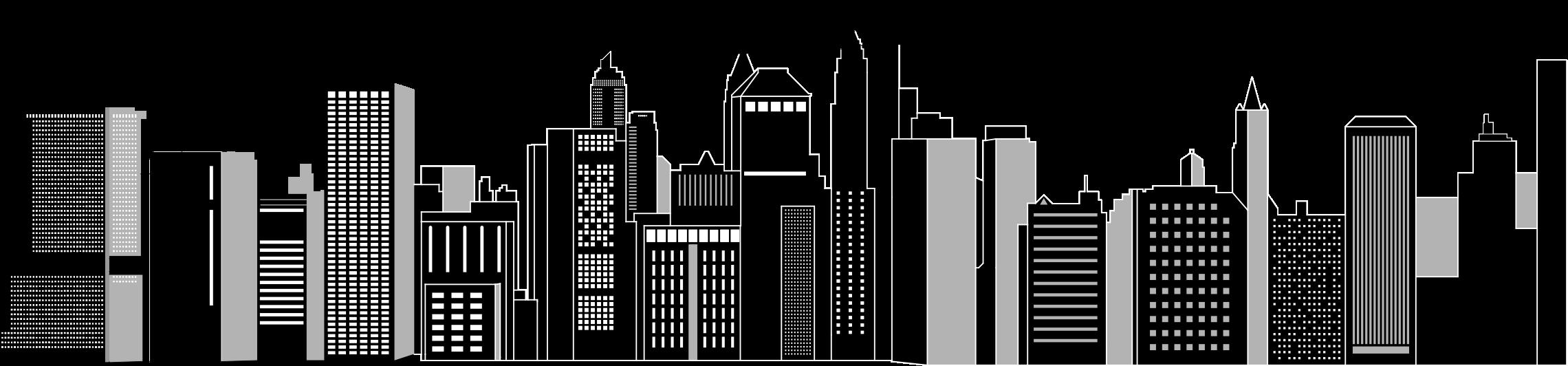 Cityscape clipart Cityscape BIG (PNG) Clipart Skyline