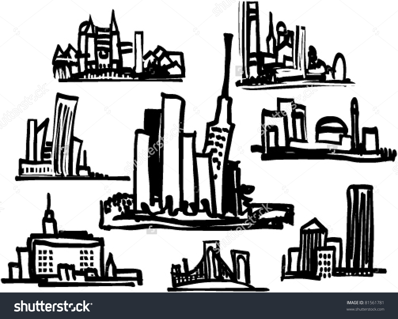 Cityscape clipart Drawings clipart Cityscape #14 Cityscape
