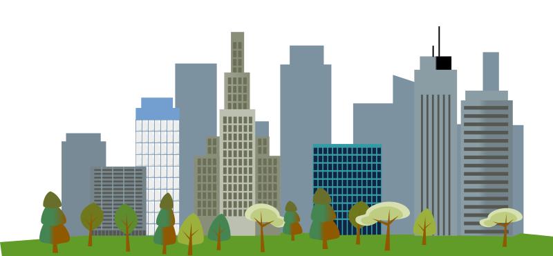 Skyscraper clipart city landscape Clip Download Cityscape Cityscape Art