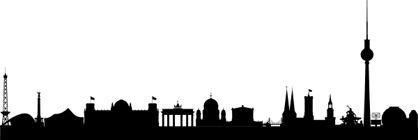 Cityscape clipart berlin Download com this  vector