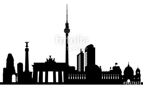 Cityscape clipart berlin Berlin on Skyline  Berlin