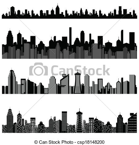 Cityscape clipart building logo To Building easy Building of
