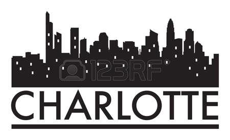 Miami clipart charlotte skyline Skyline Stock clipart Charlotte collection