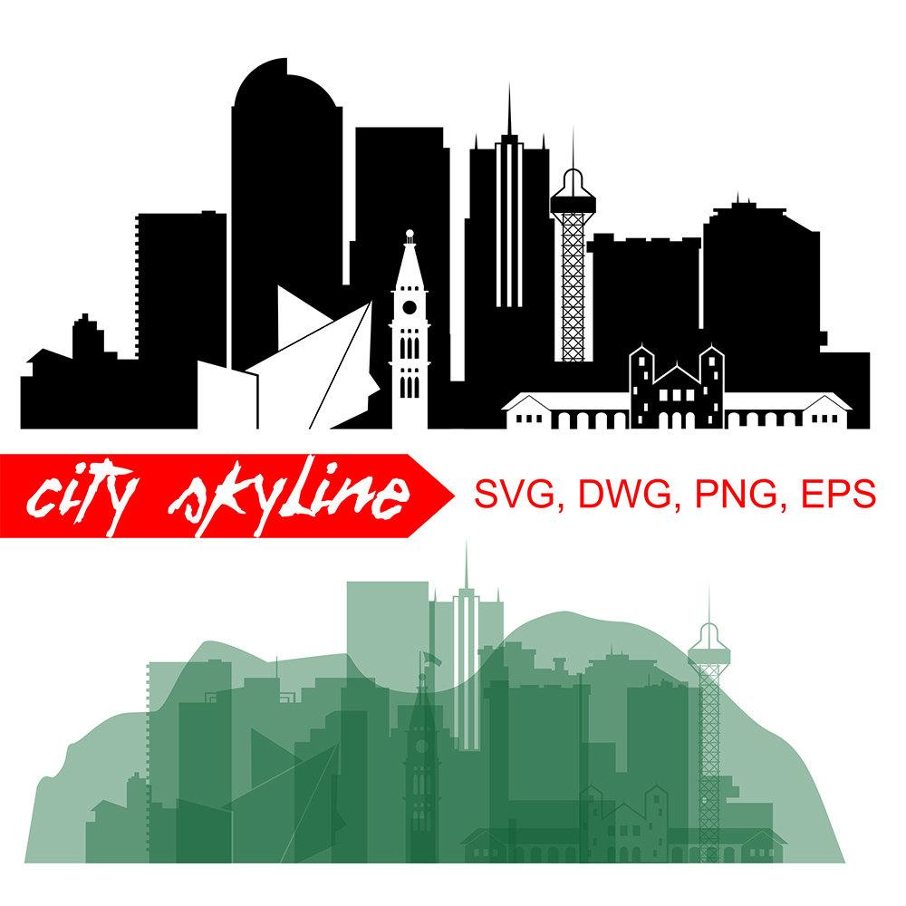 Denver clipart Mountain Clipart SVG city Denver This is