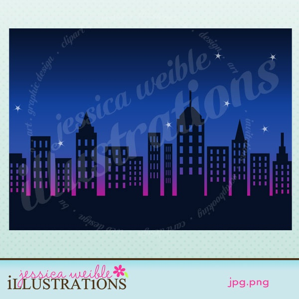 Cityscape clipart jakarta Illustrations: Design Graphic best City