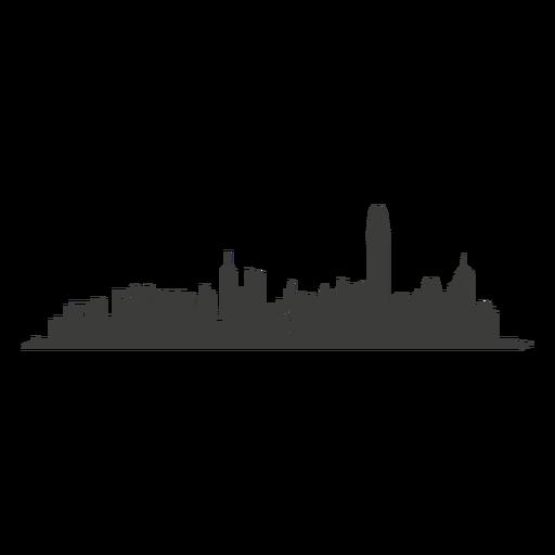 Cityscape clipart hong kong skyline Hong SVG png skyline kong