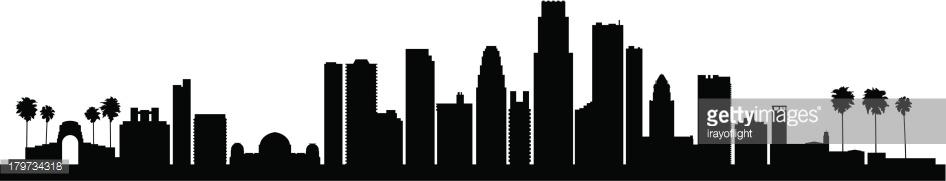 Cityscape clipart la skyline Vector city SkylineFree city Rooftop