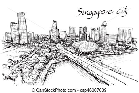 Cityscape clipart jakarta Free of free  illustration