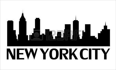 Cityscape clipart ny skyline New City skyline Art &