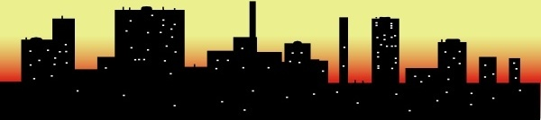Cityscape clipart vector free download Scrapers Free Sky download clip