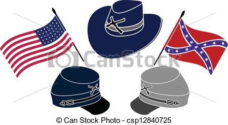 Civil War clipart Second Stock symbol 1