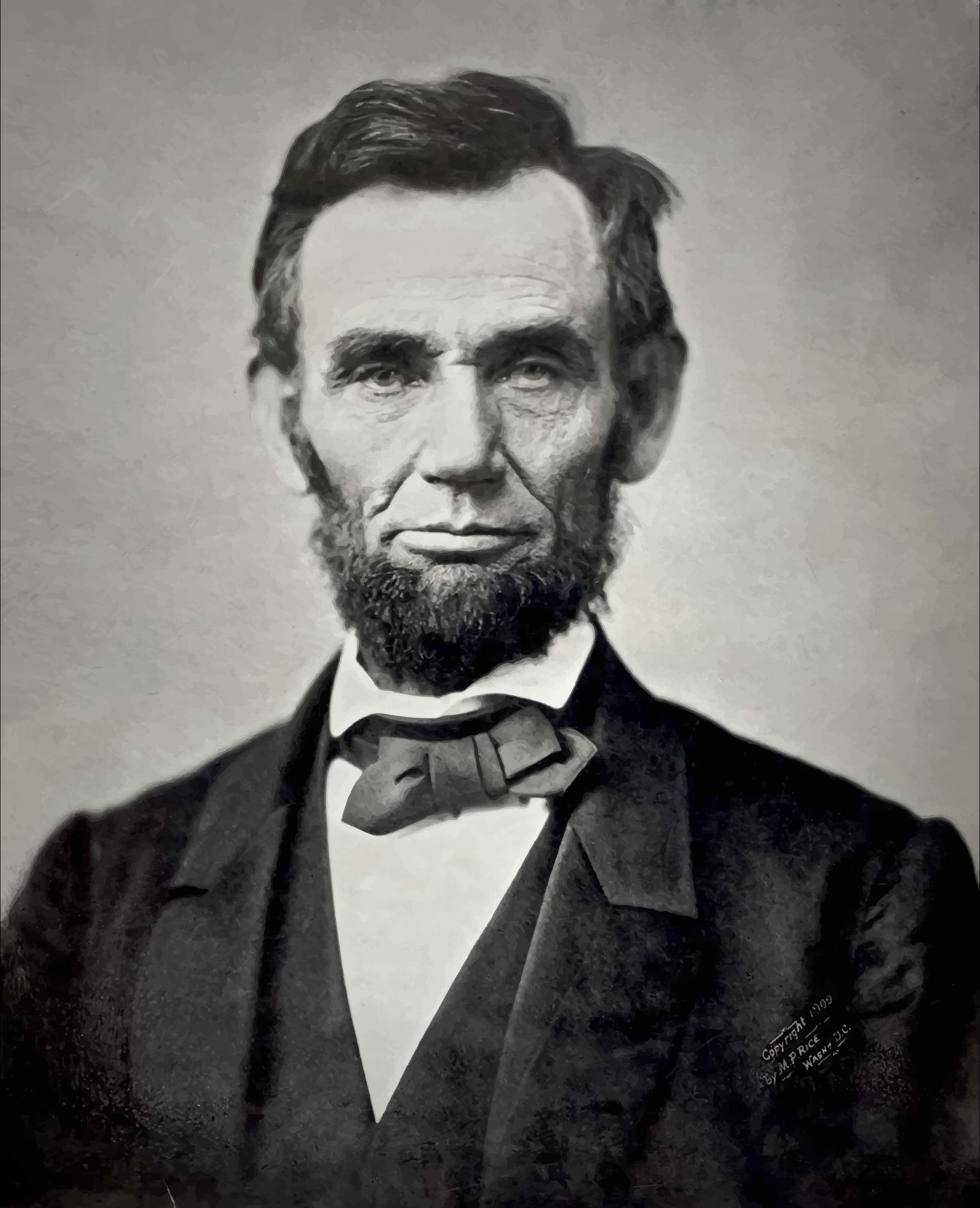 Civil War clipart abraham lincoln Clipart Lincoln 1863 schliferaward Lincoln