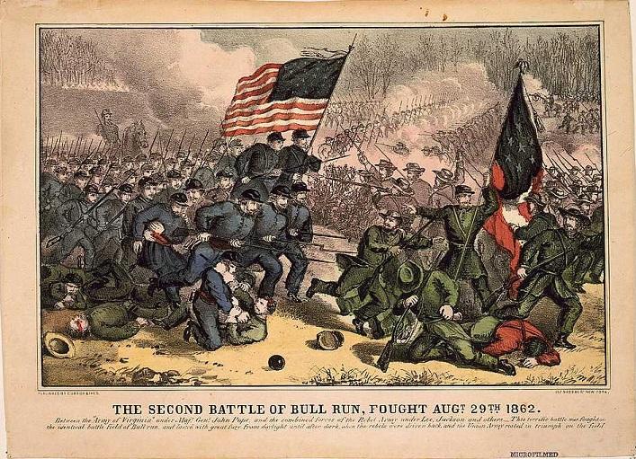 Civil War clipart bull run 1 Second_Battle_of_Bull_Run Diary of Haas
